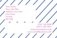 Bouncy Castle Hire Business Card  by