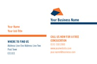 Personal Injury Claims Business Card  by Templatecloud