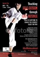 Martial Arts A5 Leaflets by Claudia Vergine