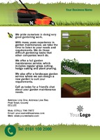 Garden Maintenance A6 Leaflets by 