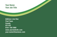 Sports Business Card  by