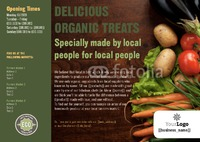 Food Store A5 Leaflets by Claudia Vergine