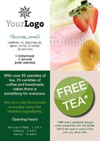 Coffee Shop A5 Leaflets by