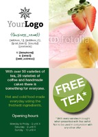 Coffee Shop A6 Flyers by