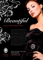 Beauty Salon A4 Leaflets by Templatecloud 
