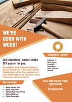 Home Improvement A4 Leaflets by