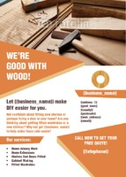 Home Improvement A6 Leaflets by