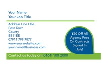 Estate Agents Business Card  by 