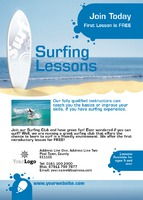 Surfing A6 Leaflets by