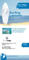 Surfing 1/3rd A4 Leaflets by