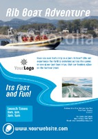 Sea Cruise A5 Leaflets by