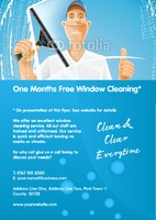 Window Cleaning A5 Leaflets by