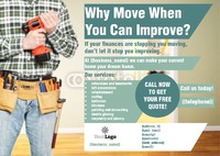 Home Improvement A5 Leaflets by Helen Tarver 