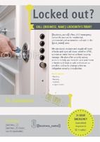 Locksmiths A5 Leaflets by Claudia Vergine