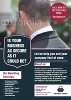 Security A5 Leaflets by