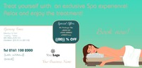 Beauty Treatments 1/3rd A4 Flyers by Claudia Vergine