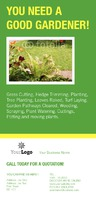 Garden Maintenance 1/3rd A4 Leaflets by