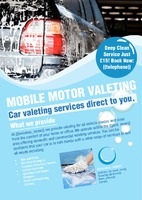 Car Wash A5 Leaflets by