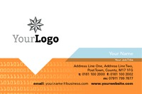 Technology Business Card  by Templatecloud 
