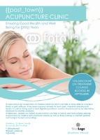 Health And Beauty A6 Leaflets by