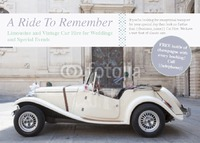 Car Hire A6 Leaflets by  