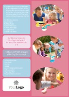 Nursery A5 Leaflets by Rebecca Doherty