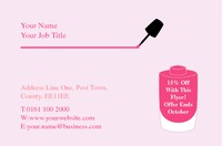 Salon Business Card  by