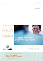 Financial Advisors A5 Postcards by Templatecloud