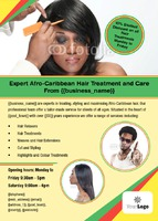 Hairdresser A6 Leaflets by