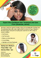 Hairdresser A4 Leaflets by