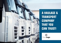 Logistics A5 Leaflets by
