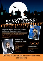 Fancy Dress A4 Leaflets by
