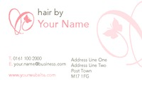 Hair Business Card  by