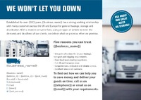 Logistics A5 Flyers by