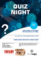 Games Night A5 Leaflets by
