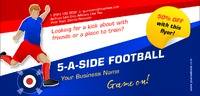 Football 1/3rd A4 Leaflets by