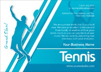 Tennis A6 Leaflets by