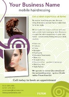 Beauty Salon A5 Leaflets by