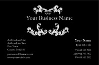 Hair & Beauty Business Card  by
