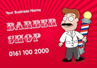 Barber A5 Leaflets by