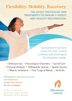 Health A6 Leaflets by Templatecloud