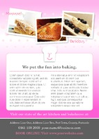 Bakery A5 Leaflets by
