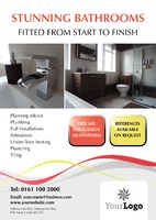 Bathroom Fitters A2 Posters by