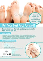 Podiatrist A6 Postcards by