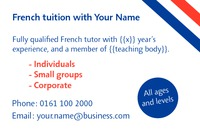 Education and Training Business Card  by