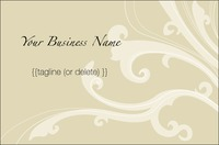 Beauticians Business Card  by