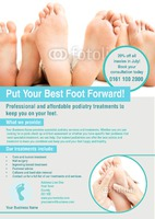 Podiatrist A3 Posters by Rebecca Doherty