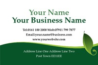 Garden Maintenance Business Card  by Rebecca Doherty