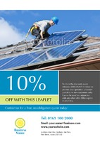 Solar Panels A5 Leaflets by