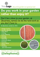 Handy Man A4 Leaflets by
